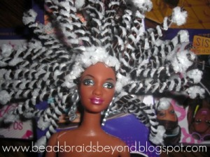 Natural Hair Tutorial For Barbie Amp Other Dolls Mz
